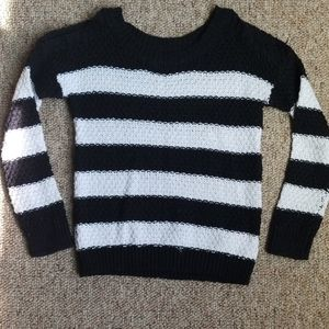 Justice Sweater WITH OPEN SHOULDERS!